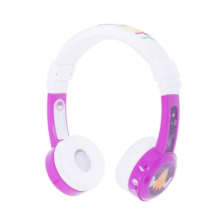 BuddyPhones InFlight, Purple