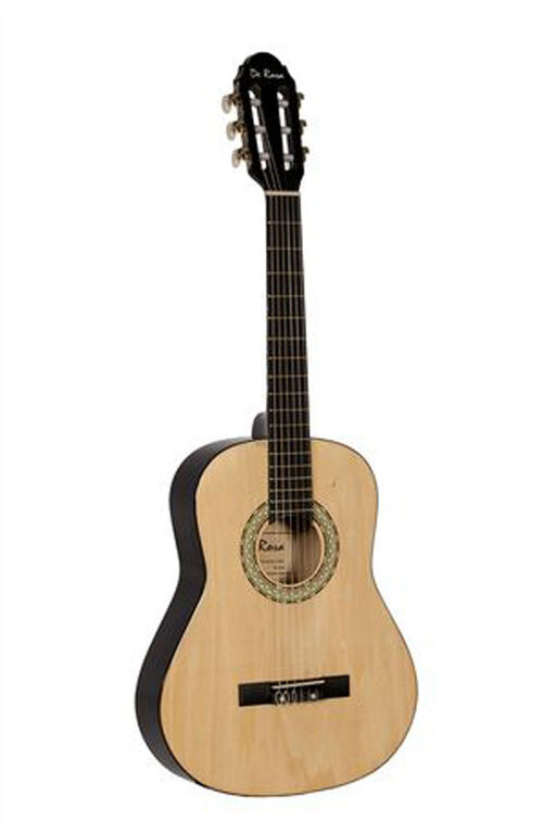 De Rosa Junior Beginner Guitar with Accessories - Natural