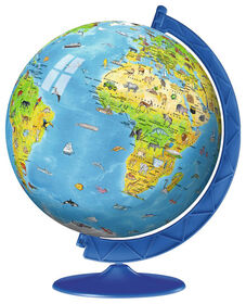 Ravensburger Children's World Globe 180 Piece