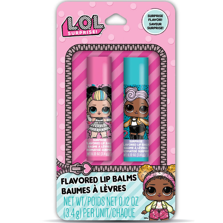 L.O.L. Surprise! Lip Balm 2 pack