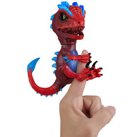 Untamed Radioactive Raptor - Gamma (Red) - Interactive Toy