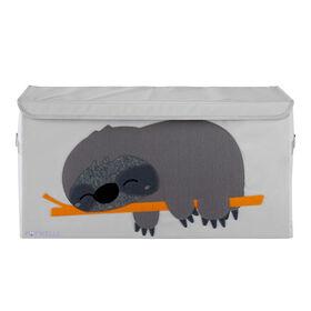 Potwells - Coffre de rangement pour jouets pour bébés et tout-petits - Organisateur de coffre - Paresseux