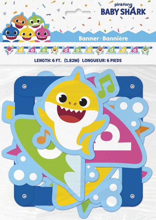 Baby Shark Grande bannière - Édition anglaise