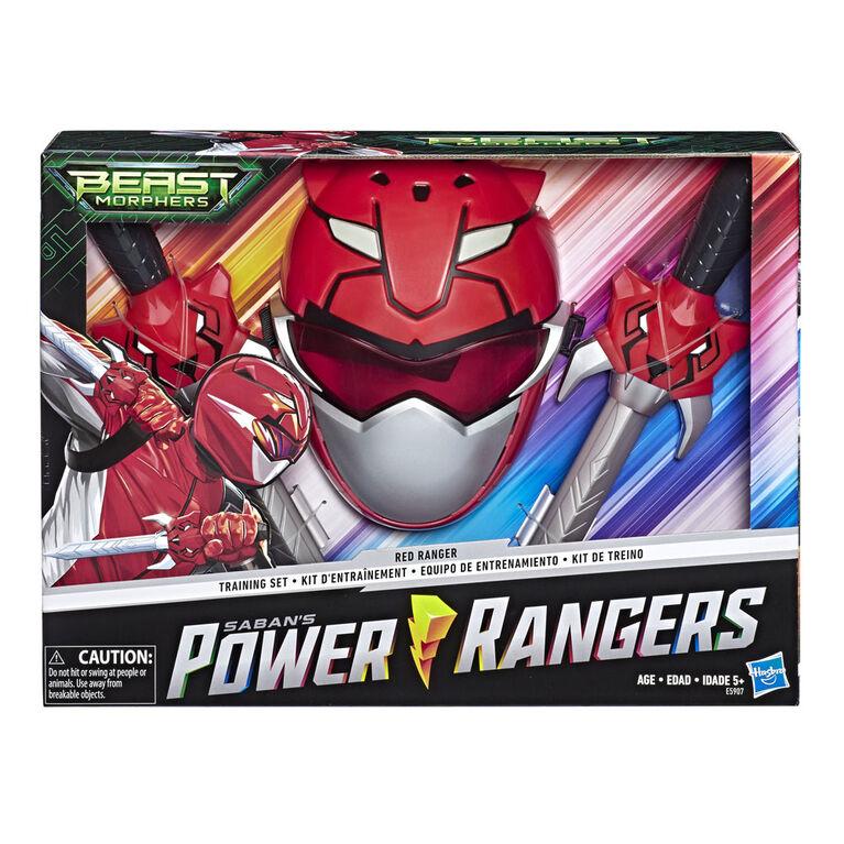 Power Rangers Beast Morphers Red Ranger Training Set. - R Exclusive