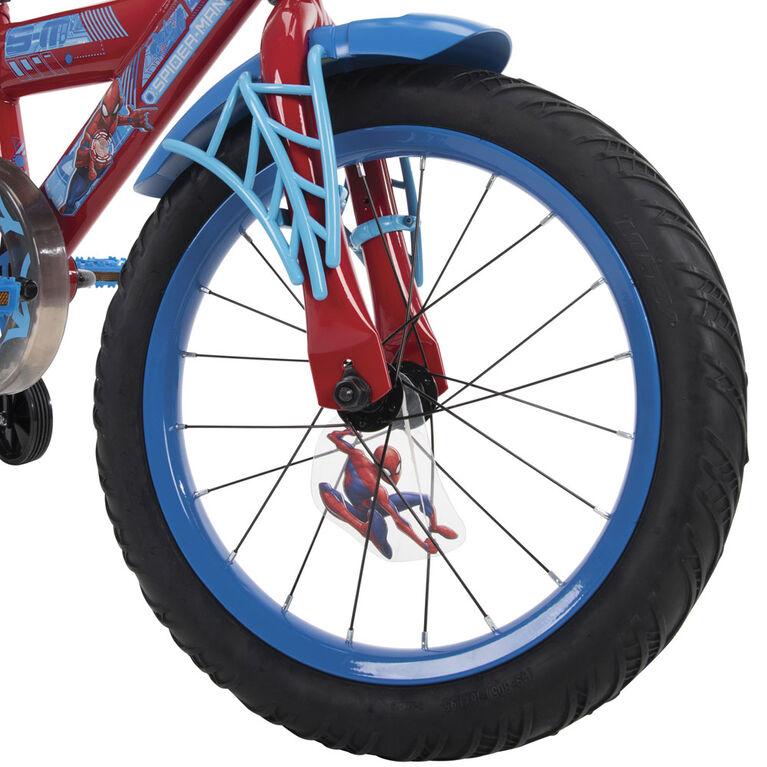 Marvel Spider-Man par Huffy - Vélo 16 pouces  - Notre exclusivité