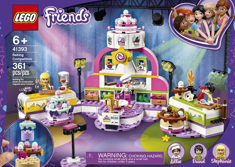LEGO Friends 41393 Baking Competition Age 6 361pcs