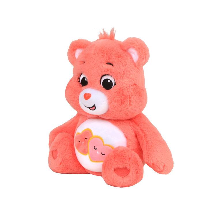 "Care Bears Basic 14"" Plush - Love-A-Lot"