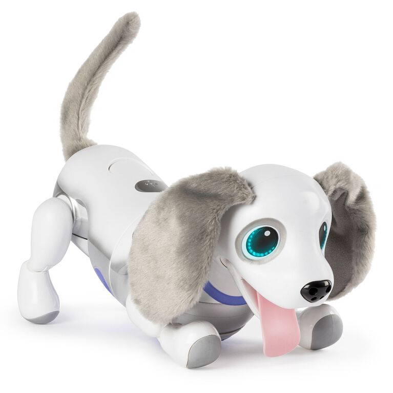 Zoomer Playful Pup, Responsive Robotic Dog with Voice Recognition and Realistic Motion