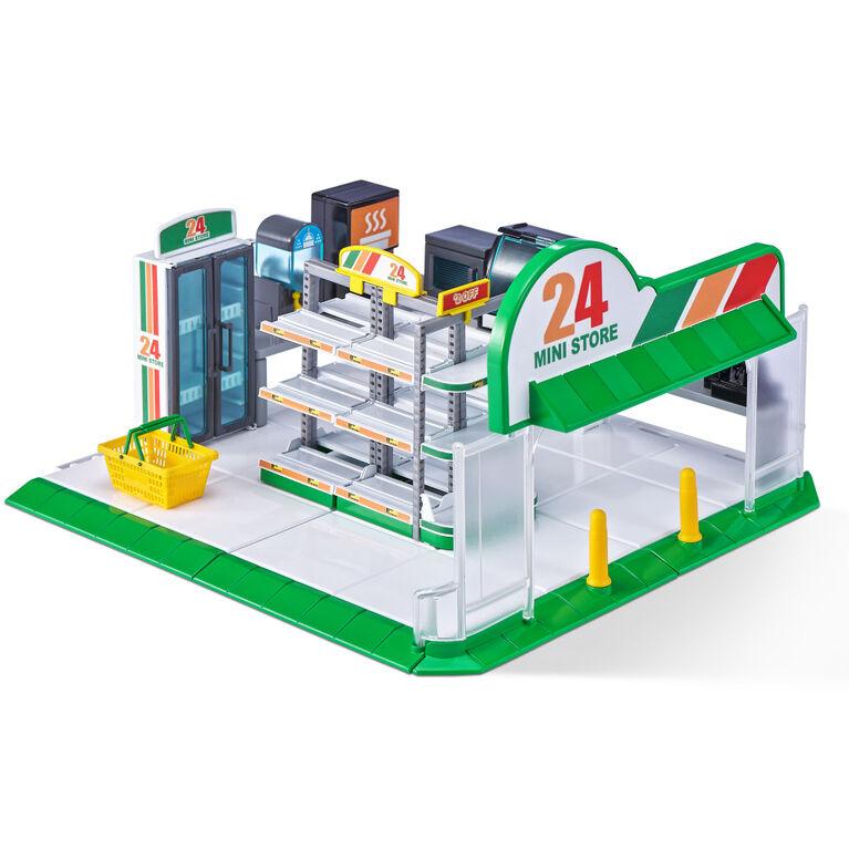 Mini Dépanneur de Mini marques 5 Surprise avec 1 Mini exclusif par ZURU - Notre exclusivité