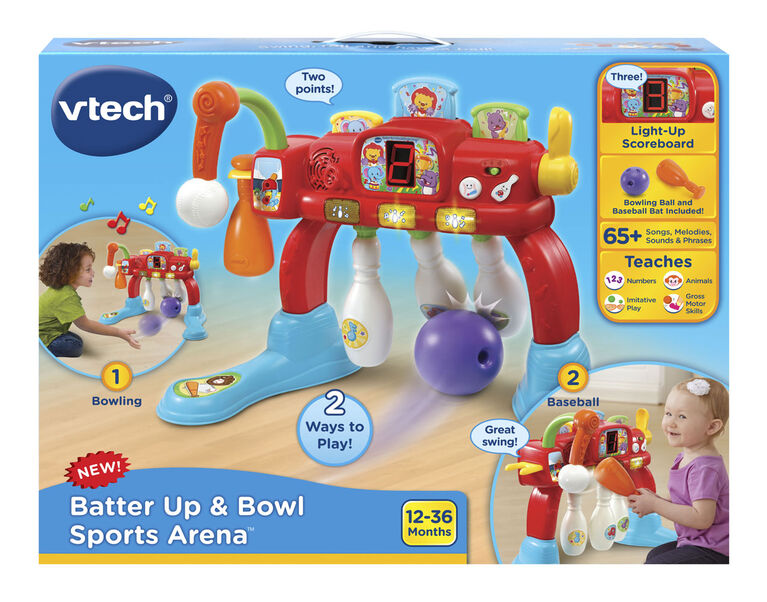 Vtech - Batter Up & Bowl Sports Arena - English Edition