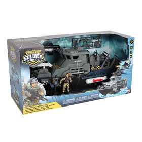 Soldier Force Navy Battleship Playset - R Exclusive