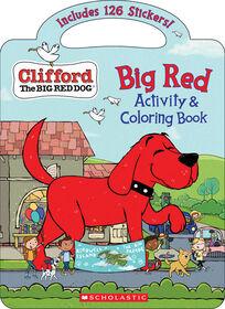 Scholastic - Clifford: Big Red Activity & Coloring Book - English Edition