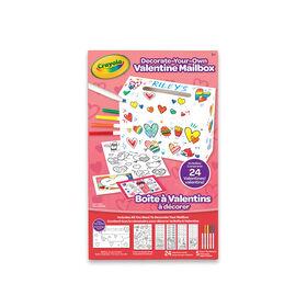 Boîte à Valentins Crayola