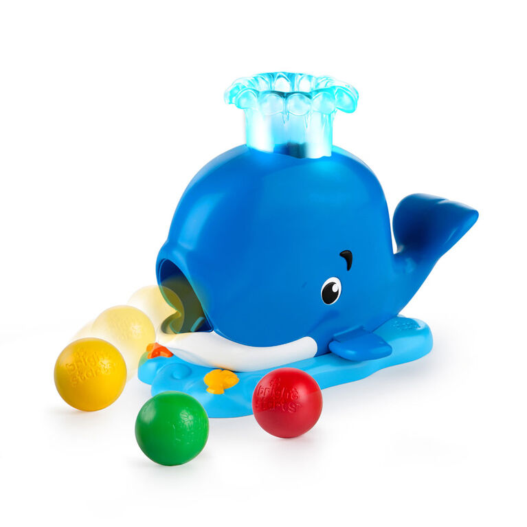 Bright Starts - Having a Ball - Silly Spout Whale Popper