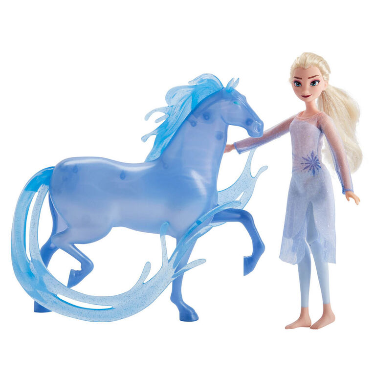 Disney Frozen Elsa Fashion Doll and Nokk Figure