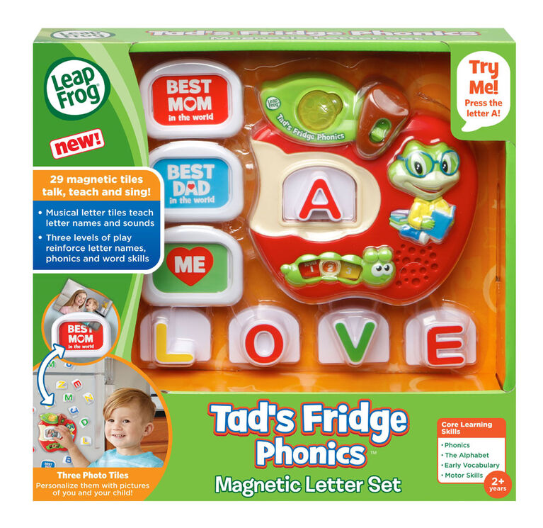 Tad's Fridge Phonics™ - English Edition