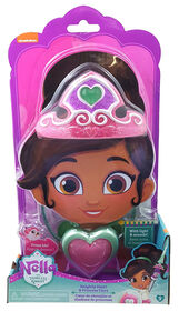Nella the Princess Knight - Be Nella! Heart Pendant & Tiara