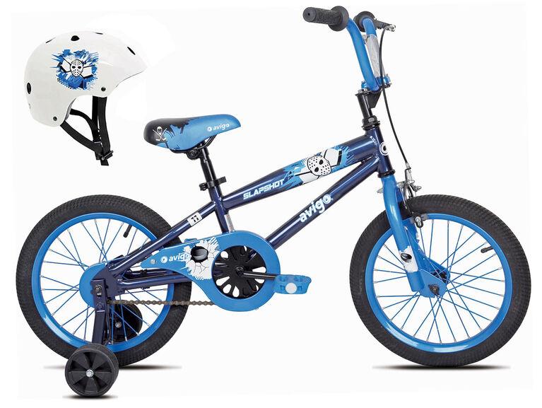 Avigo Slap Shot Bike With Helmet 16 Inch Toys R Us Canada