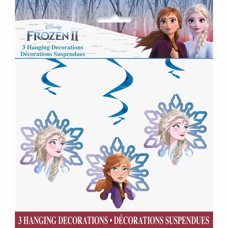 "Frozen Hanging Decorations 26"" 3 pieces"