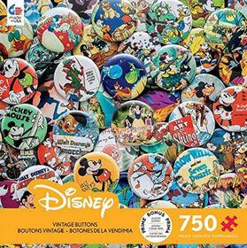 Ceaco: Disney Collection - Vintage Buttons Puzzle (750 pc)