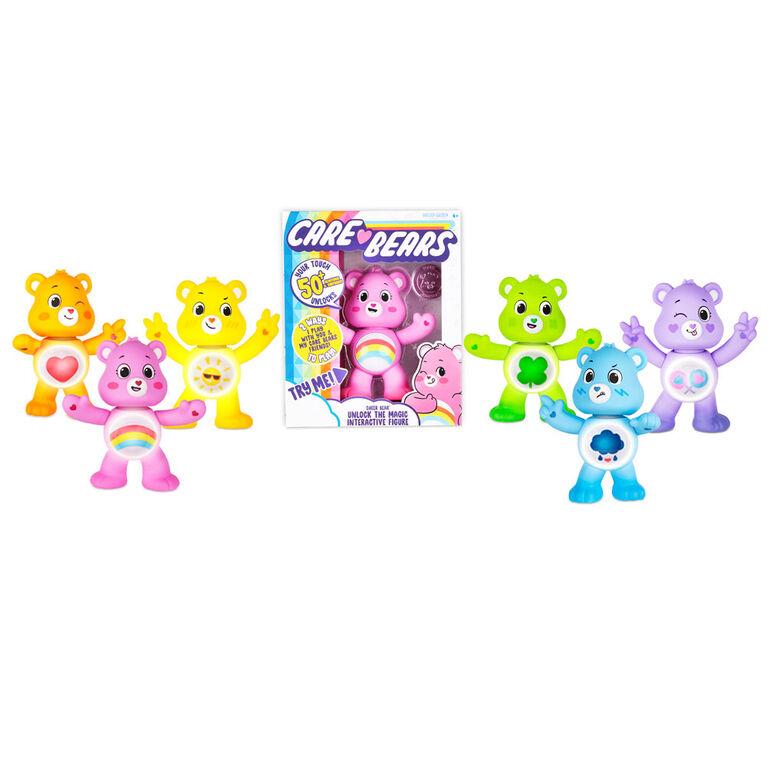 Care Bears Unlock the Magic Interactive Figures - Cheer Bear - English Edition