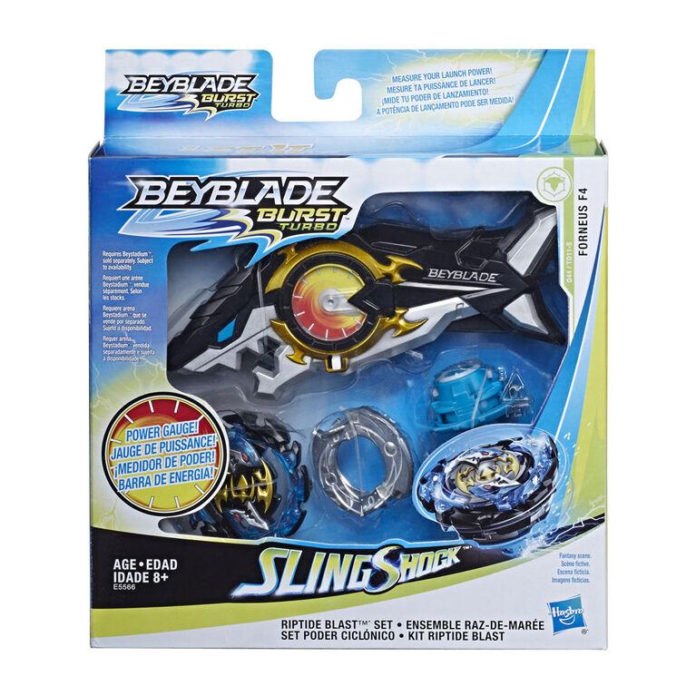 Beyblade Burst Turbo Slingshock Riptide Blast Set