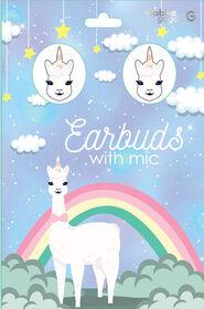 GabbaGoods Earbuds - LAmaCorn