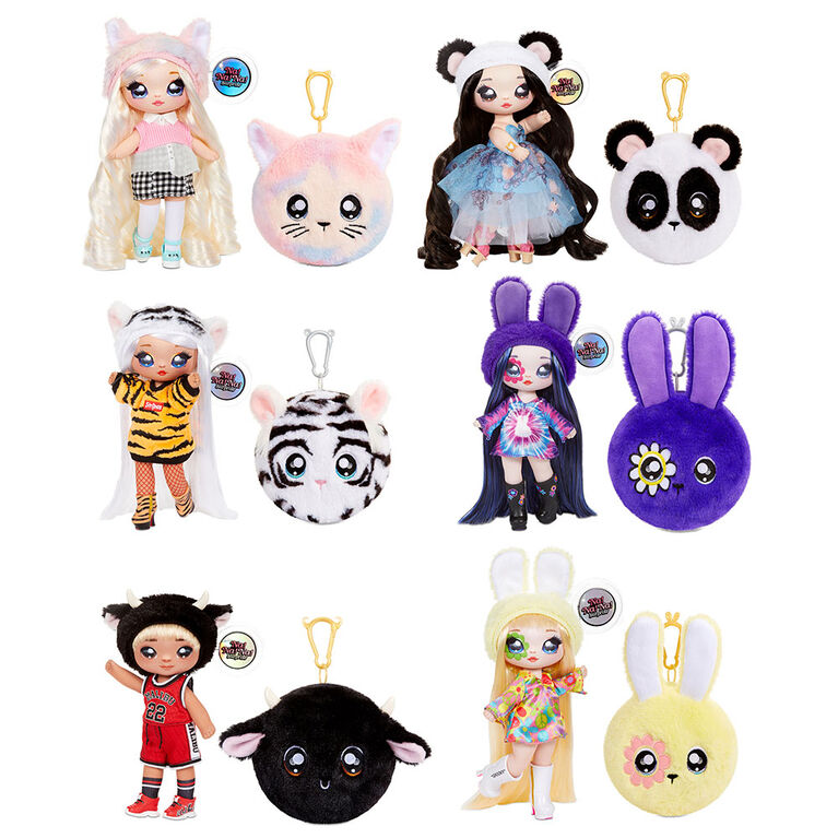 Na! Na! Na! Surprise 2-in-1 Fashion Doll and Plush Purse Series 4 - Tommy Torro