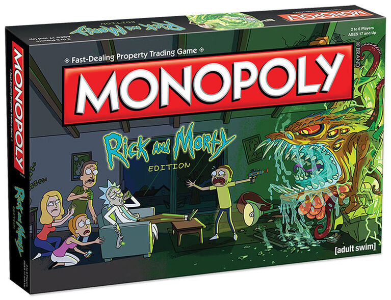 Jeu Monopoly: Rick and Morty