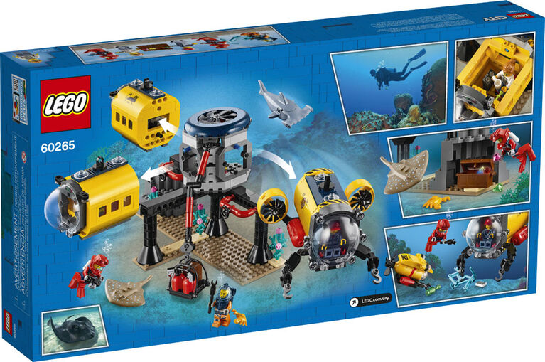 LEGO City Oceans La base d'exploration océanique 60265