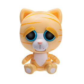 "Feisty Pets 4"" Vinyl Princess Potty Mouth Orange Cat"