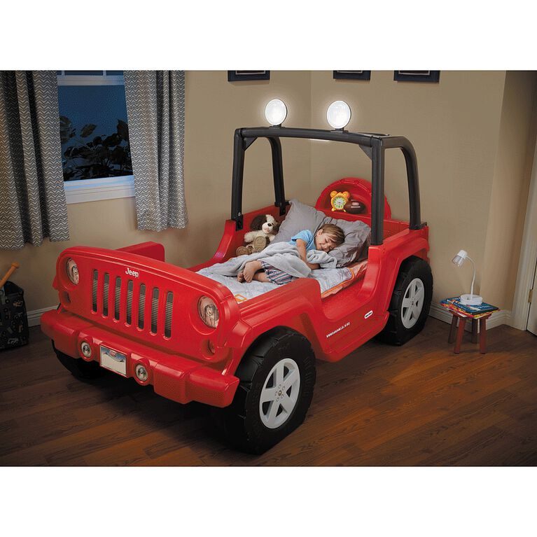 Lit 1 place Jeep Wrangler pour tout-petit