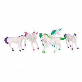 Plastic Unicorn Figurine Favors - 8