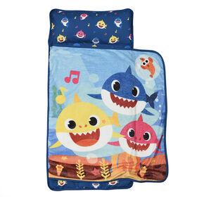 Couverture pour la sieste avec oreiller intégré, Baby Shark