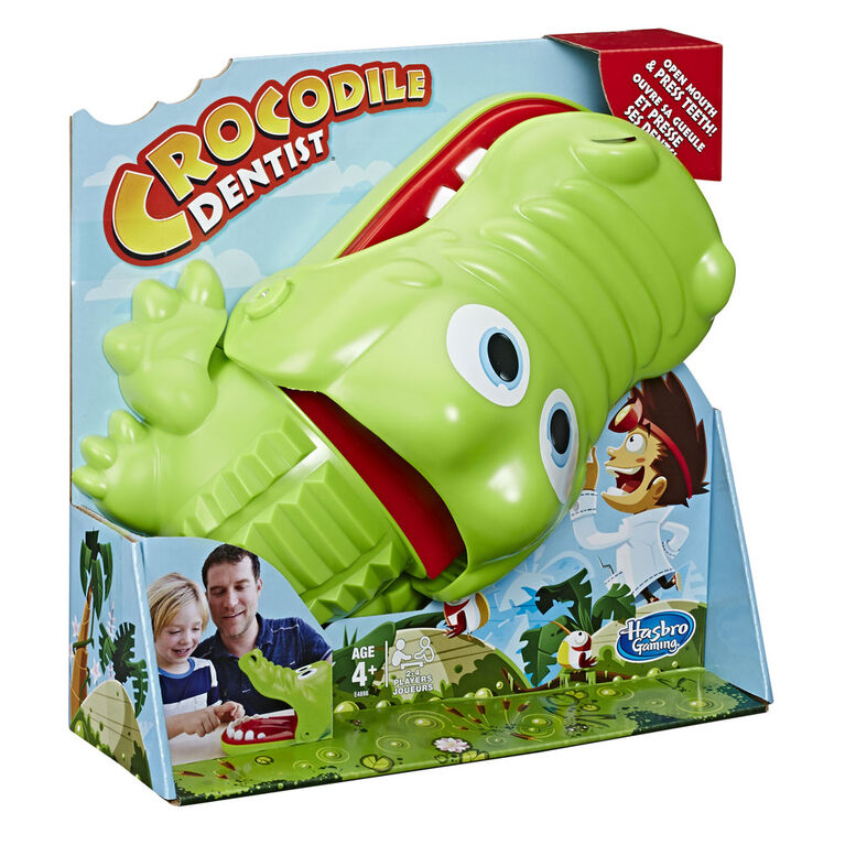 Hasbro Gaming - Jeu Crocodile Dentist