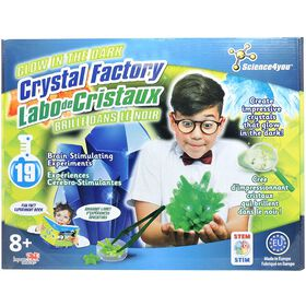 Science4you - Glow in the Dark Crystal Factory