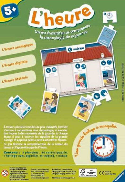 Ravensburger! Time Game - French Edition