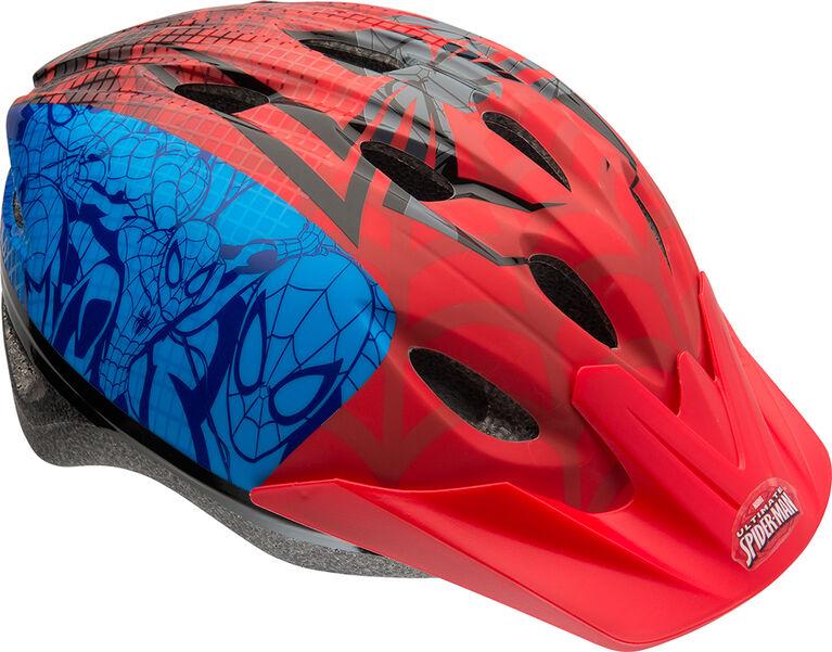 Spiderman casque de vélo pour enfants 5ans et plus