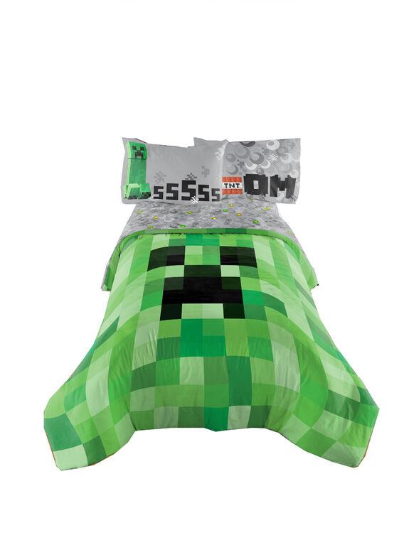 Minecraft Douillette pour lit 1 ou 2 places