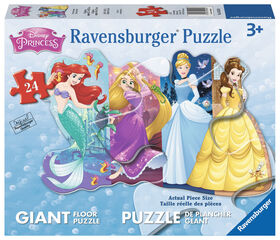 Ravensburger - Disney Pretty Princesses Floor Puzzle 24pc