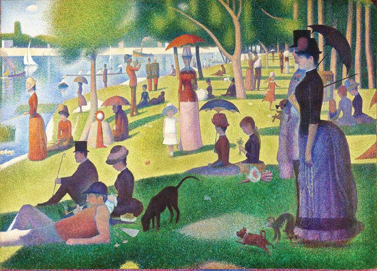 "Masterpieces 1000 Piece Puzzle - ""A Sunday on La Grande Jatte"""
