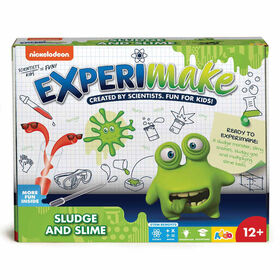 Nickelodeon - Trousse de science Experimake Sludge and Slime - Notre exclusivité - Édition anglaise