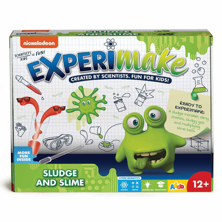 Nickelodeon Experimake Sludge and Slime Science Kit - R Exclusive - English Edition