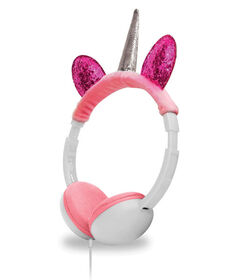 Art+Sound Plush Unicorn Wired Headphone