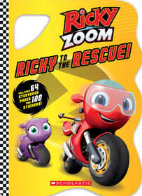 Scholastic - Ricky Zoom - Ricky to the Rescue - Édition anglaise