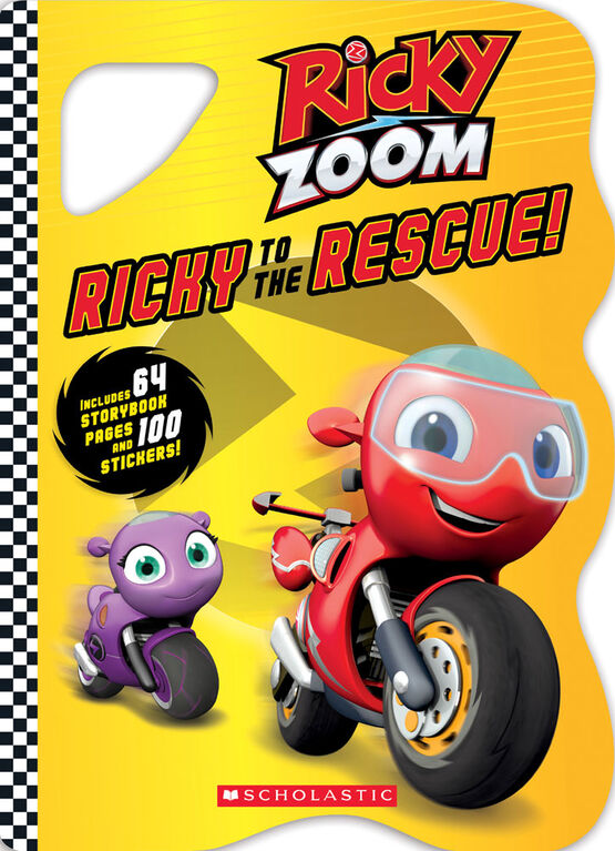 Scholastic - Ricky Zoom - Ricky to the Rescue - English Edition