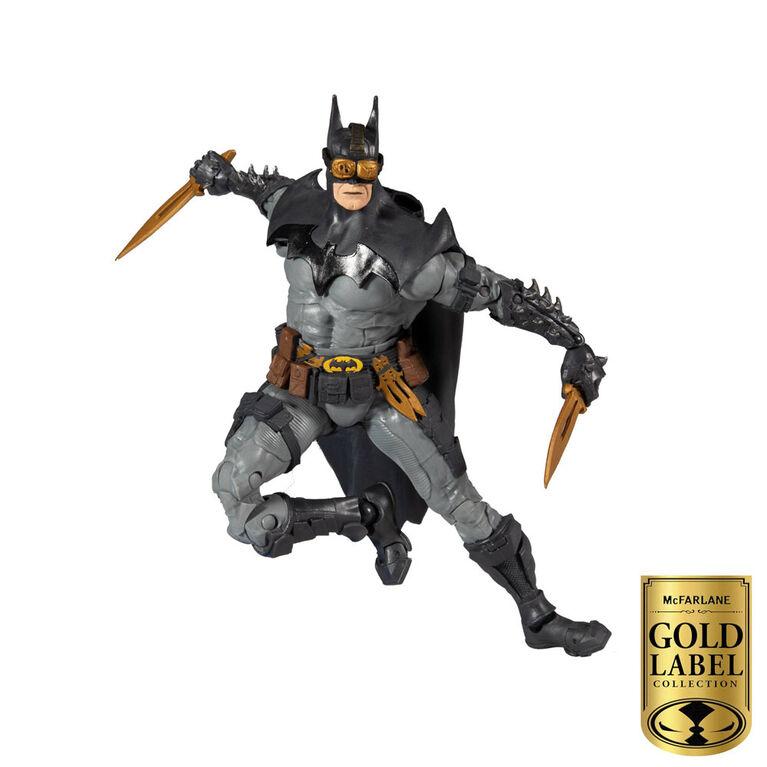 Série de collectionneurs d'étiquettes d'or McFarlane: figurine de Batman - Notre exclusivité