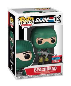 Figurine en Vinyle Beachhead par Funko POP! G.I. Joe (Convention D'automne Exclusive)