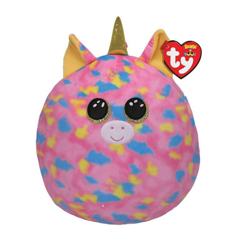 Ty Squish Fantasia Pink Unicorn 10 inch