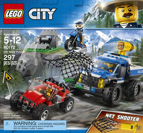 LEGO City Police Dirt Road Pursuit 60172